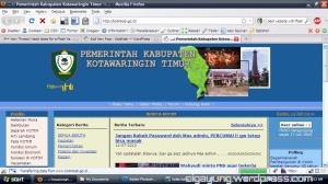 situs web kota waringan timur